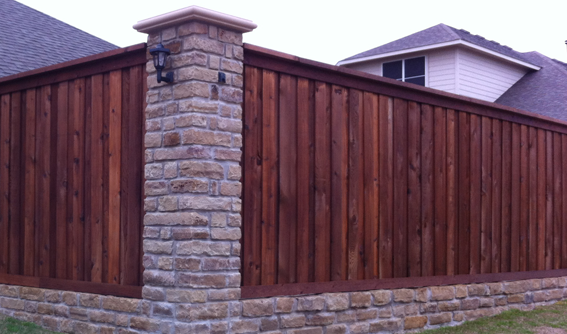 Stone Fence Pillars : Ffbt fowler members who kill it for the home improvement